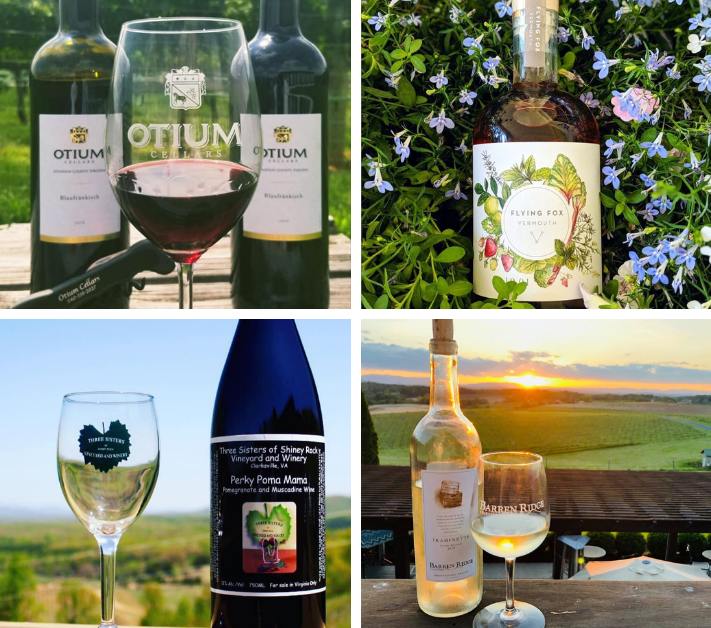COLLAGE OF VWDC WINERIES